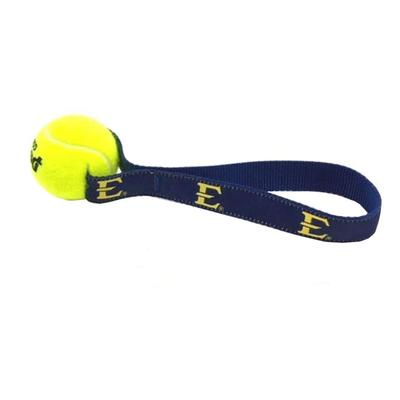 East Tennessee State University Tennis Pull Dog Toy