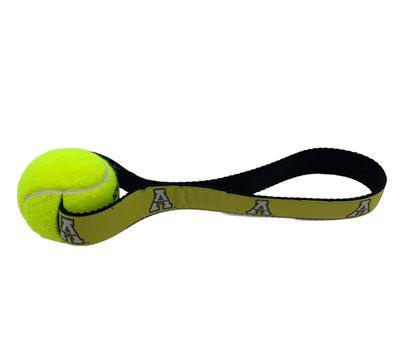 Appalachian State Tennis Pull Dog Toy