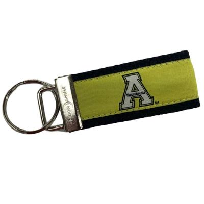 Appalachian State Block A Key Chain