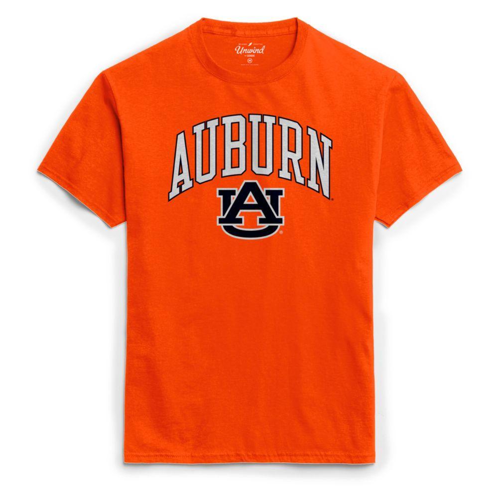 Auburn League Women's Puff Arch Logo Tee