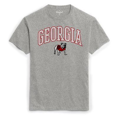 Georgia League Women's Puff Arch Logo Tee