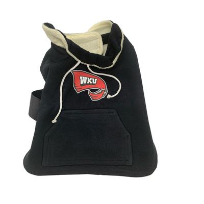 Western Kentucky Fleece XS-M Dog Coat