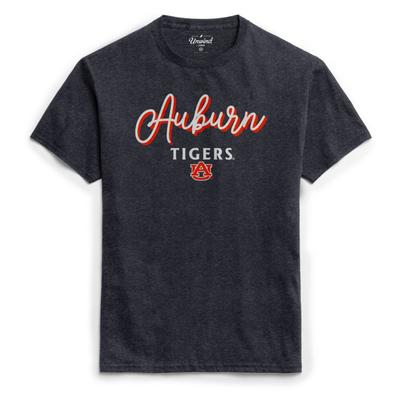 Auburn League Women's Puff Girly Script Tee