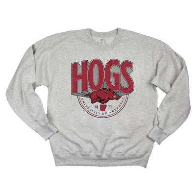 Arkansas B Unlimited Fayetteville Billboard Text Sweatshirt