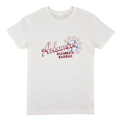 Arkansas B Unlimited Bubblegum Baseball Wrapper Tee