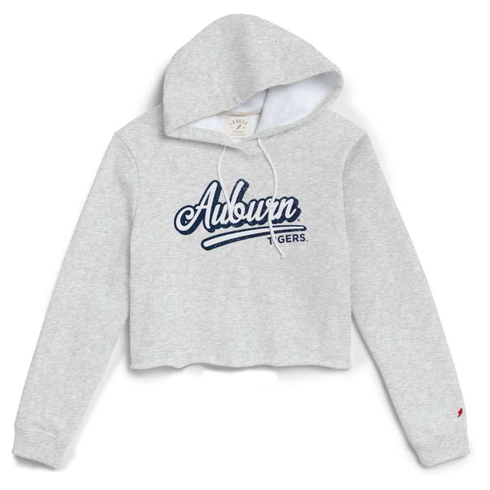 Auburn League Women's 1636 Cropped Hoodie