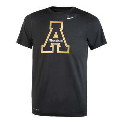 Appalachian State Nike Youth Short Sleeve Dri-FIT Legend Tee