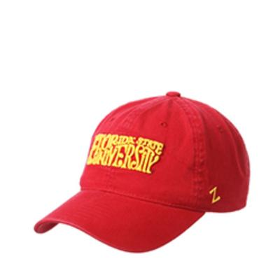 Florida State Zephyr Beach Line Washed Cotton Adjustable Hat