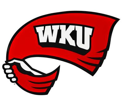 Western Kentucky 12 Inch Towel Logo Decal