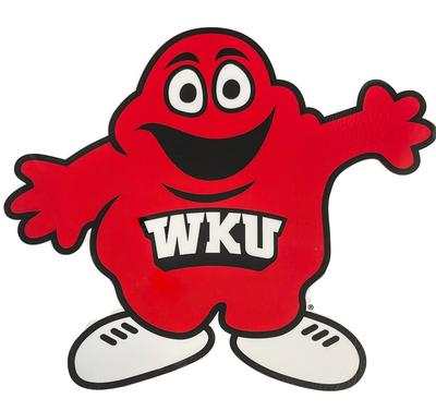 Western Kentucky 12 Inch Big Red Decal