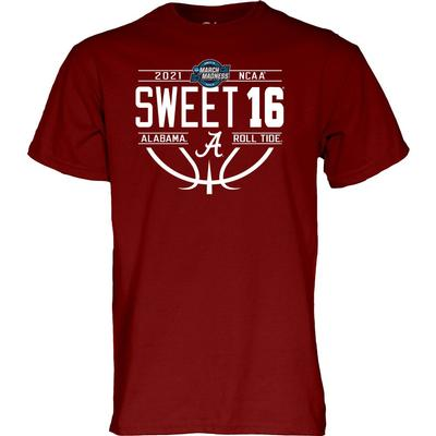 Alabama Sweet 16 Short Sleeve Tee