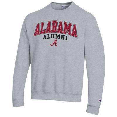 Alabama Champion Arch Alumni Fleece Crew