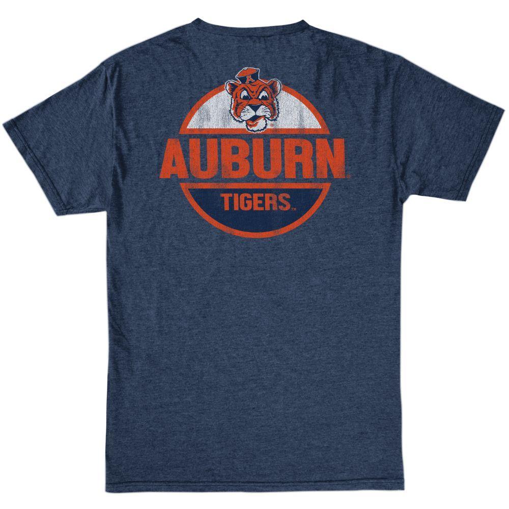 Auburn Retro Brand Bold Circle Tee