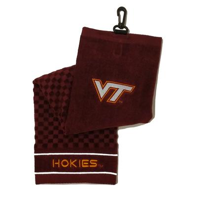 Virginia Tech Embroidered Towel
