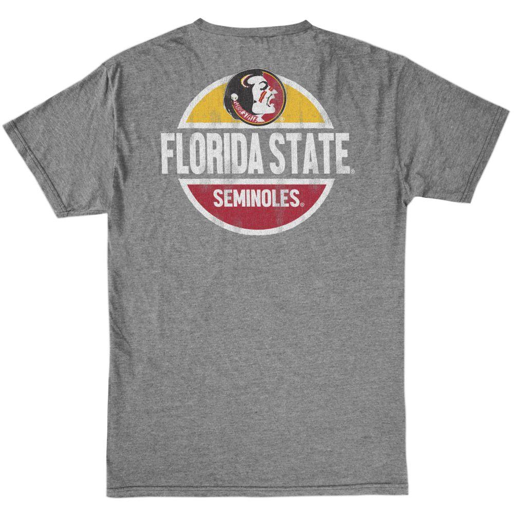 Florida State Retro Brand Bold Circle Seminole Tee