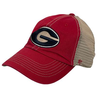 Georgia 47' Brand Meshback Clean Up Hat