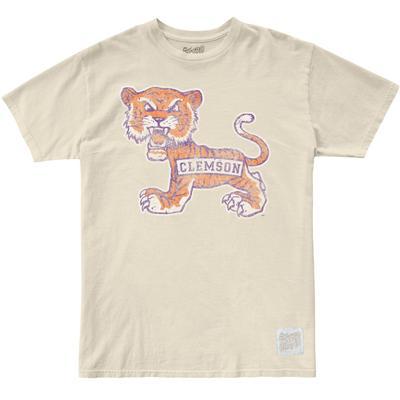 Clemson Retro Brand Tiger Vintage Tee
