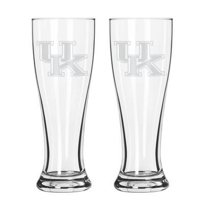 Kentucky 16 oz Frost Pilsner Glass