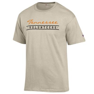 Tennessee Champion Women's Script Bar Mascot Tee