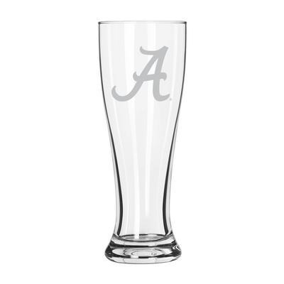 Alabama 16 oz Frost Pilsner Glass