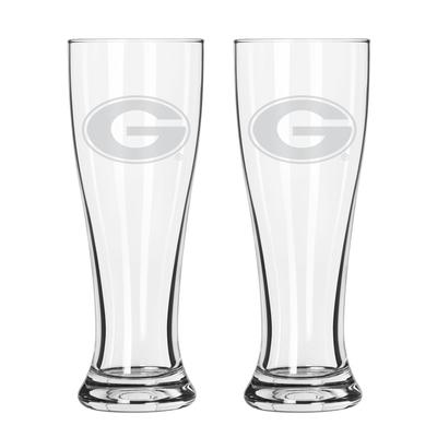 Georgia 16 oz Frost Pilsner Glass
