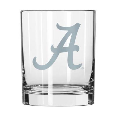 Alabama 14 oz Frost Rock Glass