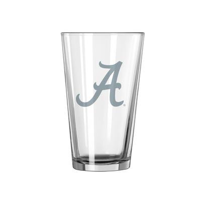 Alabama 16 oz Frost Pint Glass