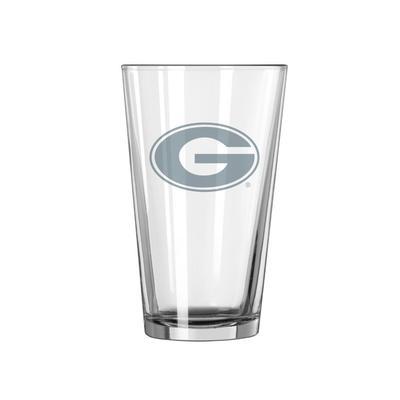 Georgia 16 oz Frost Pint Glass