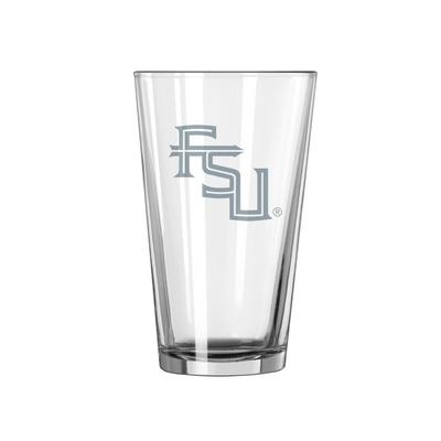 Florida State 16 oz Frost Pint Glass