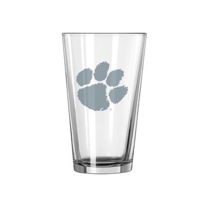Clemson 16 oz Frost Pint Glass