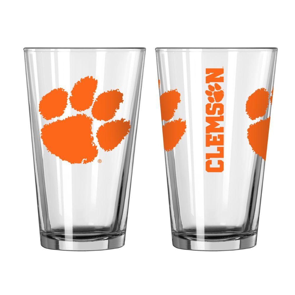 Clemson 16 Oz Gameday Pint Glass