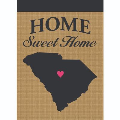 Dickson South Carolina Home Sweet Home Burlap Garden Flag
