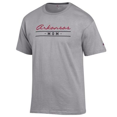 Arkansas Champion Women's Script Bar Mom Tee