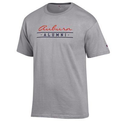 Auburn Champion Women's Script Bar Alumni Tee