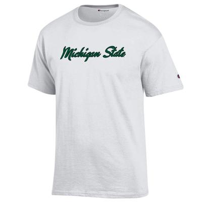 Michigan State Champion Women's Basic Script Tee