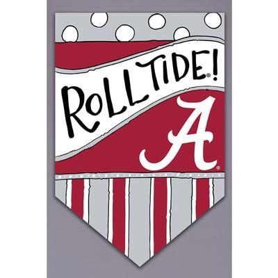 Alabama Magnolia Lane Roll Tide Garden Flag