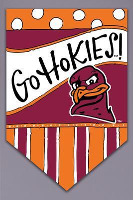Virginia Tech Magnolia Lane Go Hokies Garden Flag