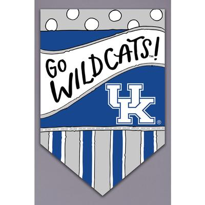 Kentucky Magnolia Lane Go Cats Garden Flag