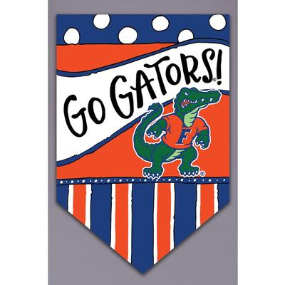 Florida Magnolia Lane Go Gators Garden Flag