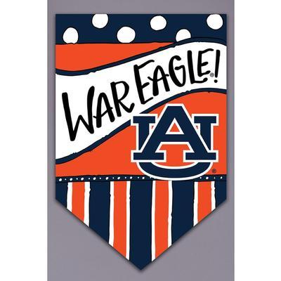 Auburn Magnolia Lane War Eagle Garden Flag