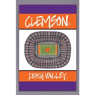 Clemson Magnolia Lane Death Valley Garden Flag