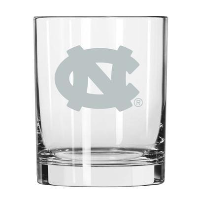 UNC 14 oz Frost Rock Glass