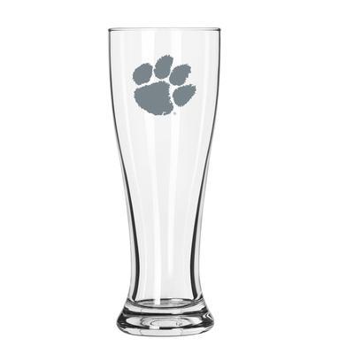 Clemson 16 oz Frost Pilsner Glass