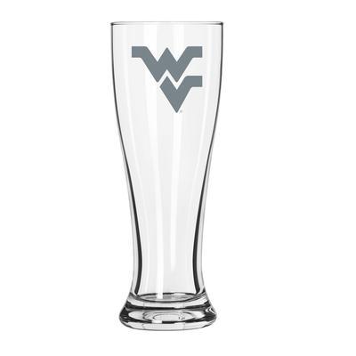 West Virginia 16 oz Frost Pilsner Glass