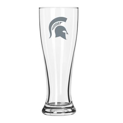 Michigan State 16 oz Frost Pilsner Glass