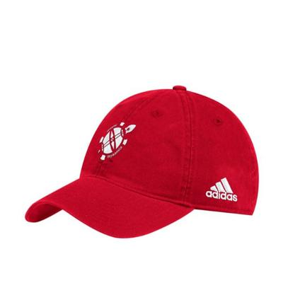 Miami Adidas Heritage Logo Slouch Adjustable Hat