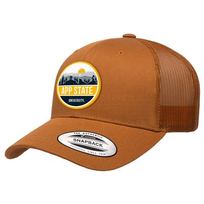Appalachian State Uscape Scenic Patch Trucker Adjustable Hat