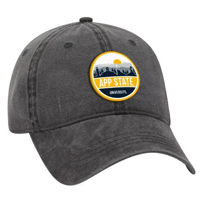 Appalachian State Uscape Scenic Vintage Washed Adjustable Hat