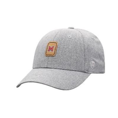 Miami Top of the World M Patch Logo Adjustable Hat