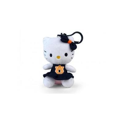 Auburn Hello Kitty Keychain